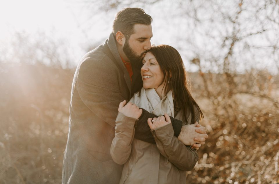 Liz and Mike | Chase Farm Engagement