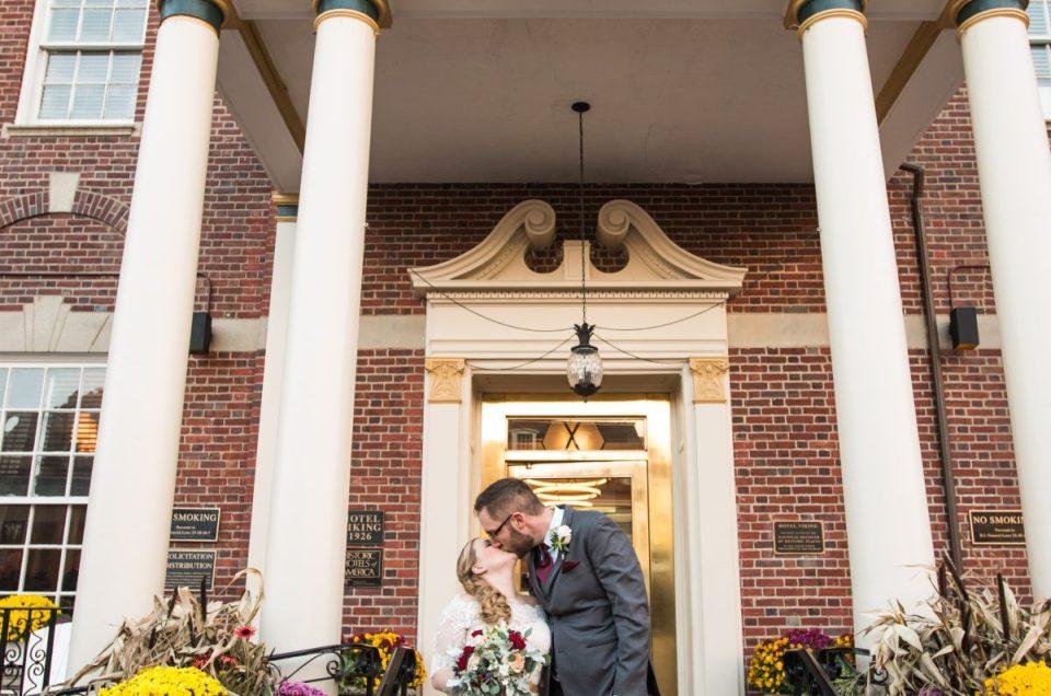 Sarah and Alec | Hotel Viking Newport Wedding