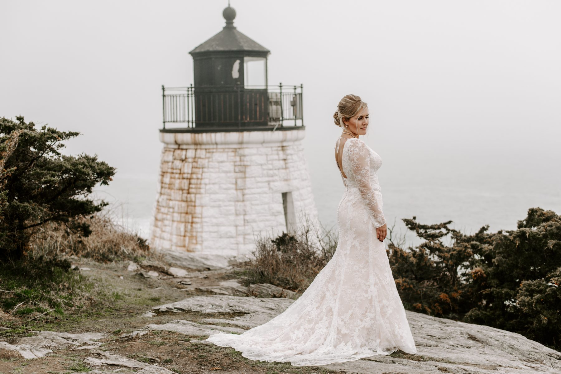 Castle Hill Newport Elopement Lorrie and Ed Blueflash Photography 23