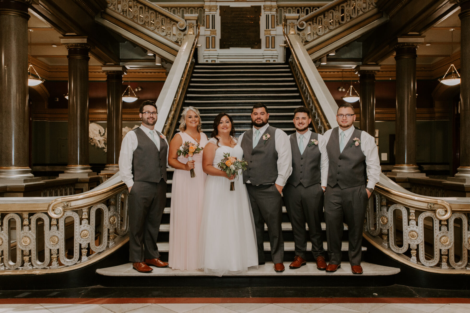 Providence City Hall Wedding Kerri and Billy Blueflash Photography 10