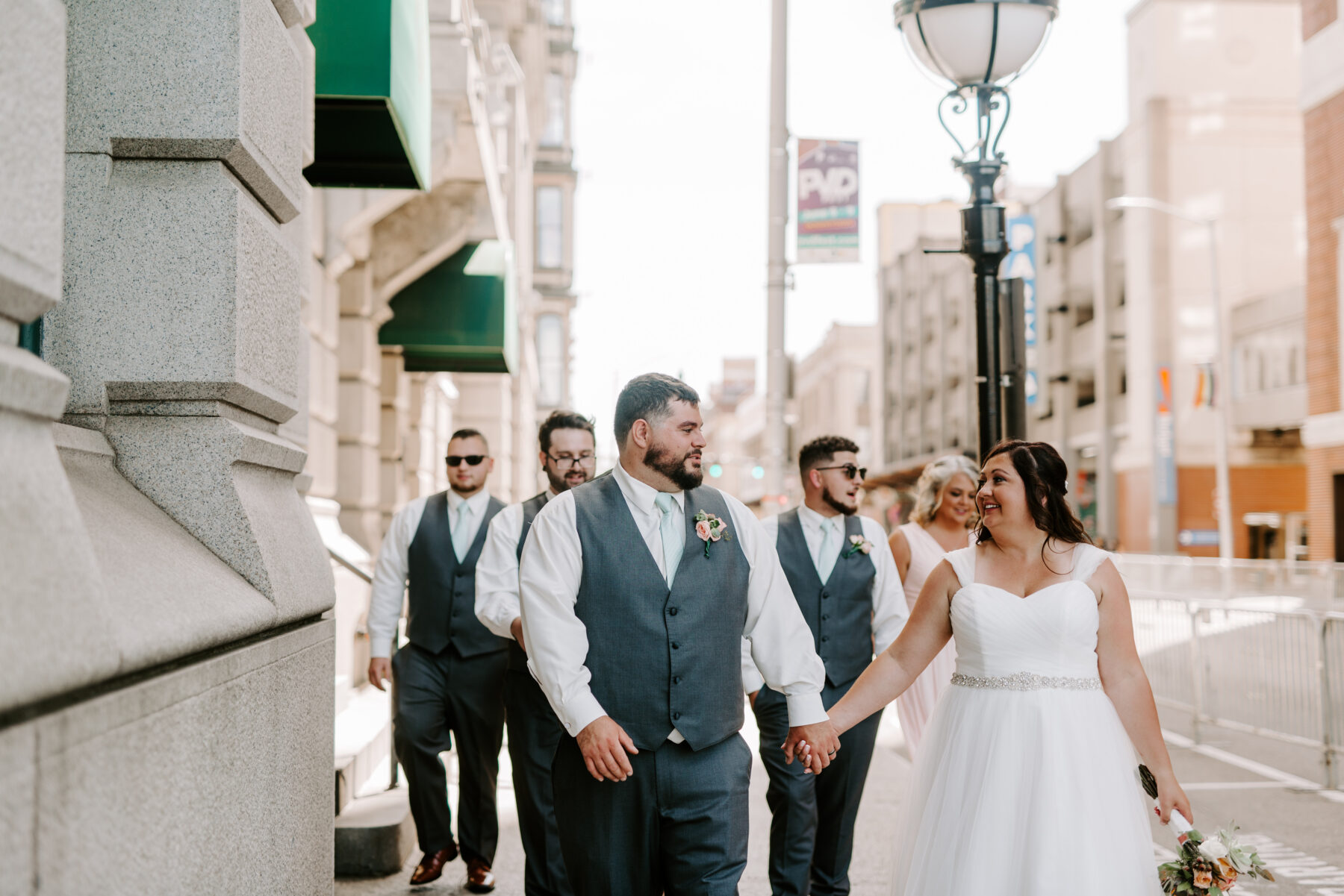 Providence City Hall Wedding Kerri and Billy Blueflash Photography 17