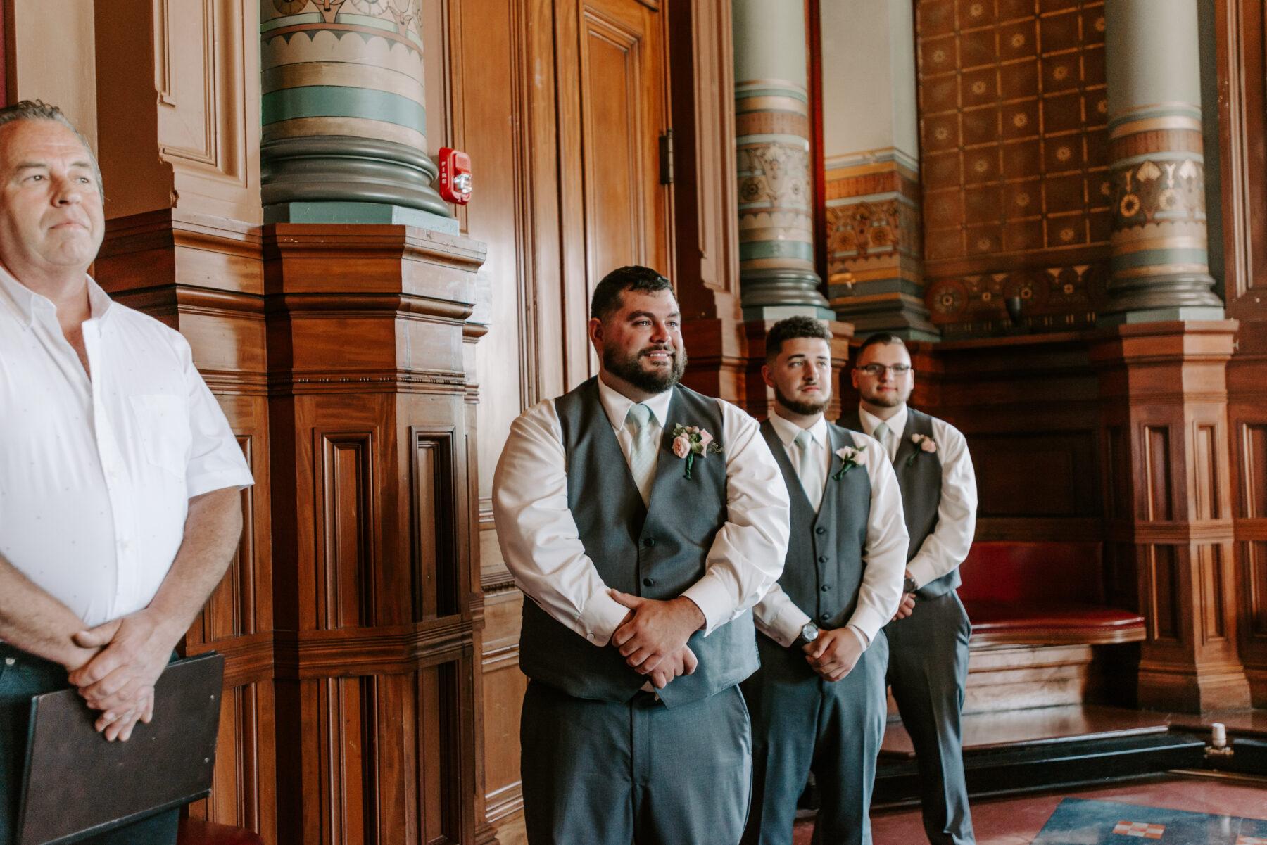 Providence City Hall Wedding Kerri and Billy Blueflash Photography 2