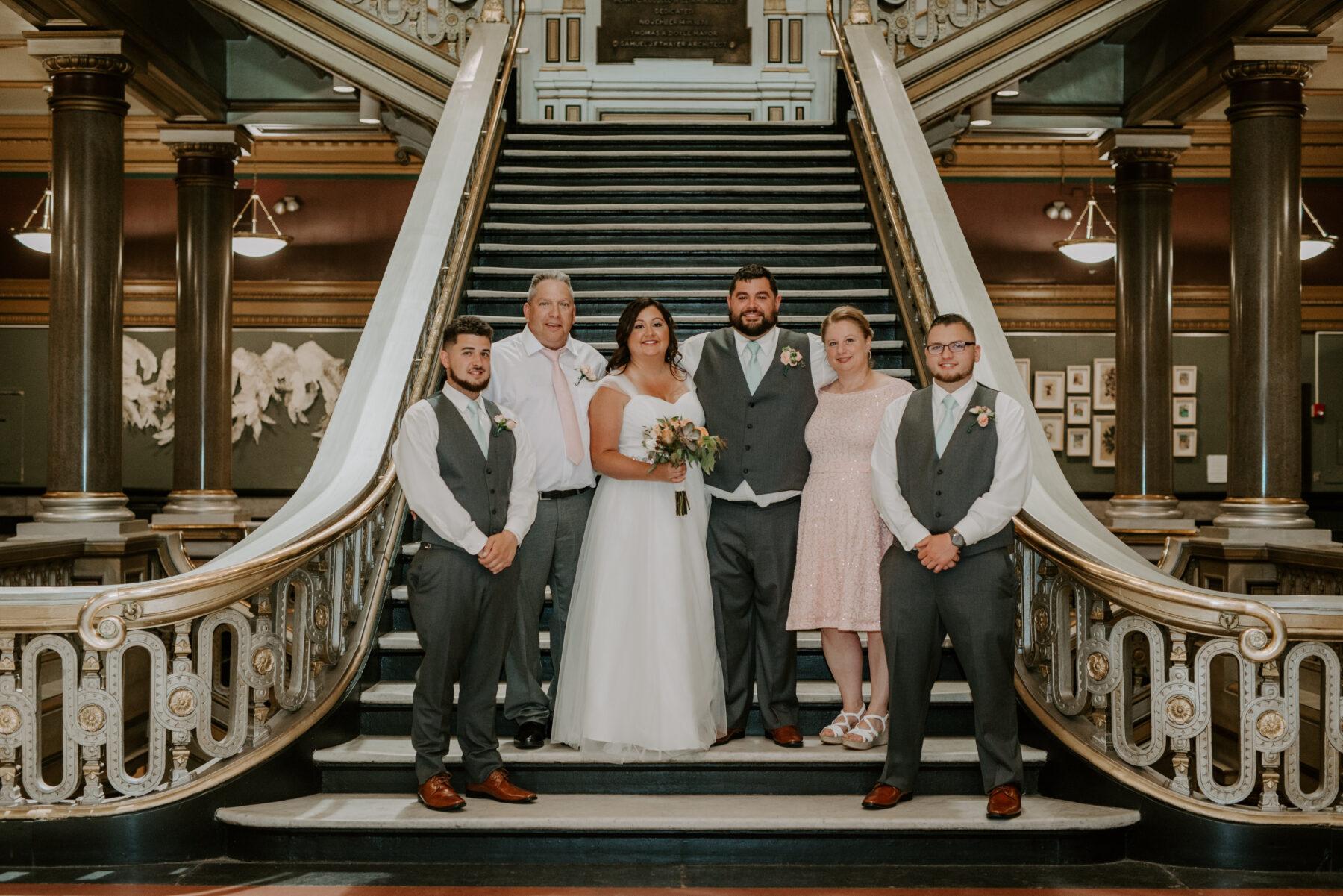 Providence City Hall Wedding Kerri and Billy Blueflash Photography 9