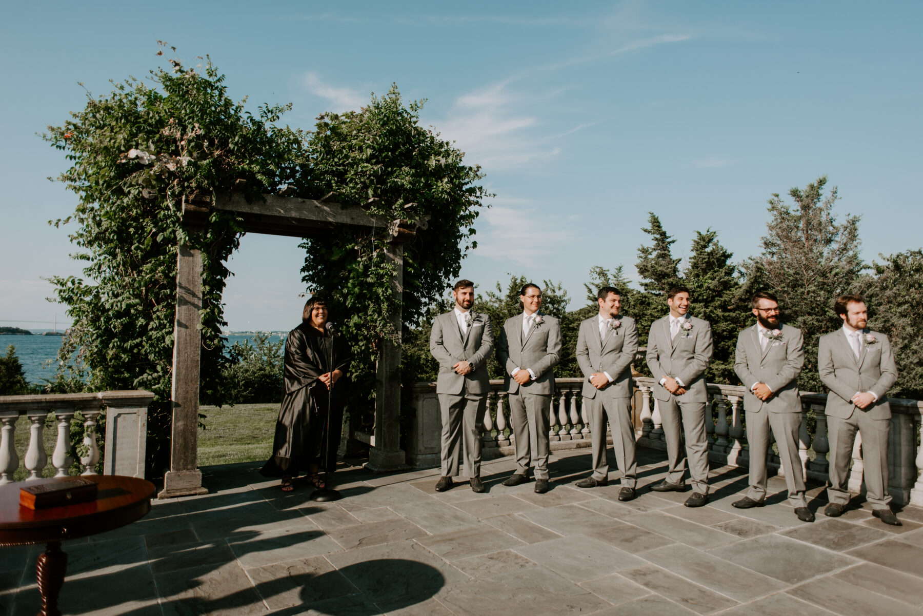 Castle Hill Newport Wedding Liz and Mike Blueflash Photography 12