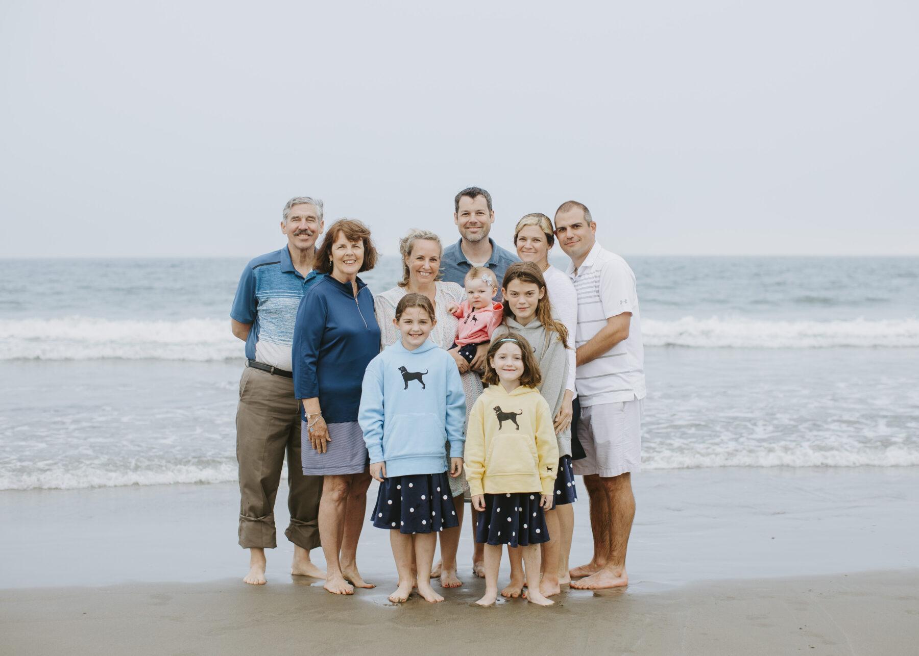 Rhode Island Beach Family Session Jen and Mark Blueflash Photography 6