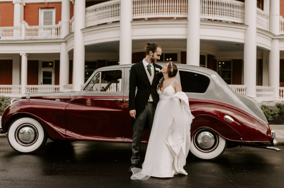 Emily and Scott | Roger Williams Casino Wedding