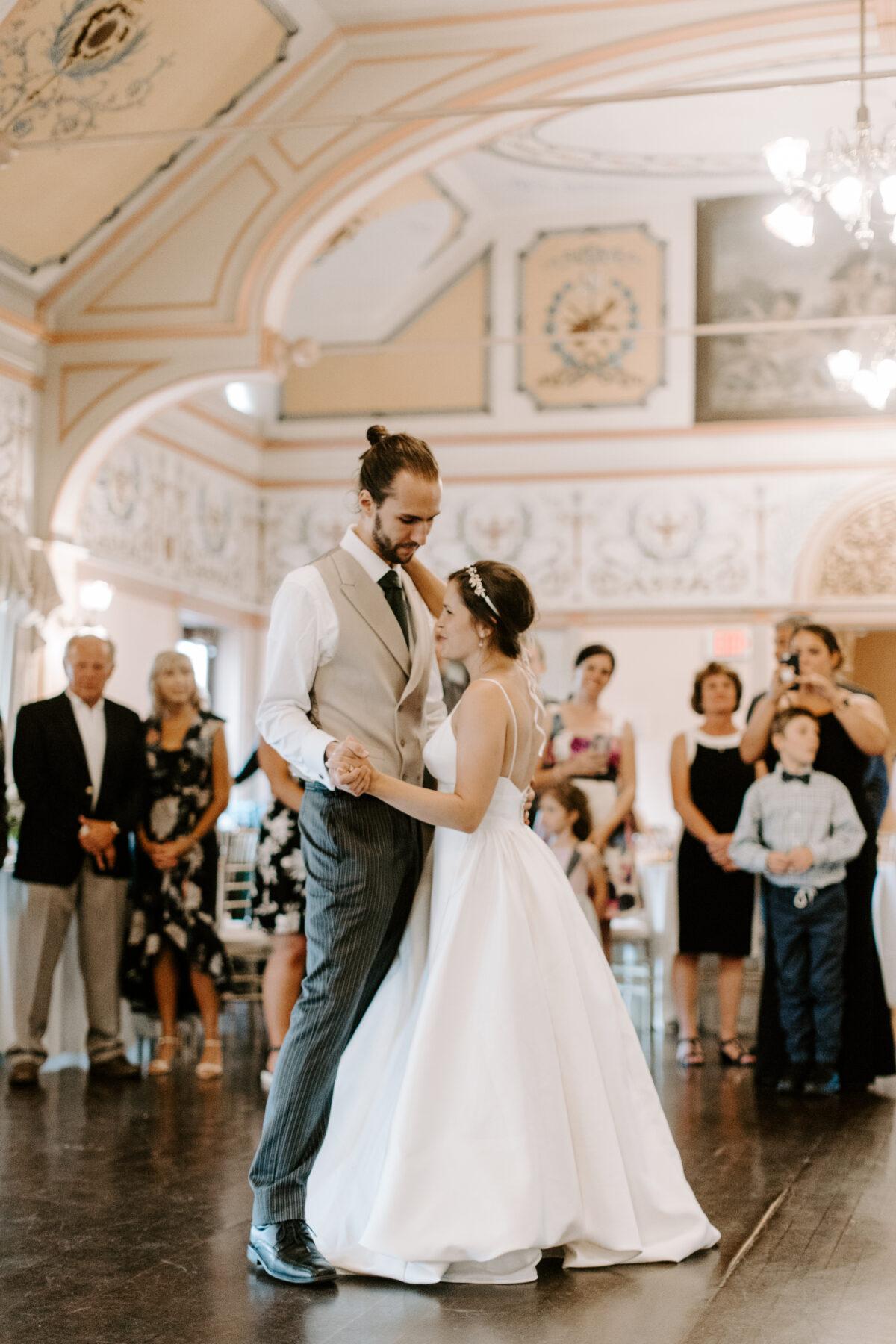 Roger Williams Casino Providence Wedding Emily and Scott Blueflash Photography 25