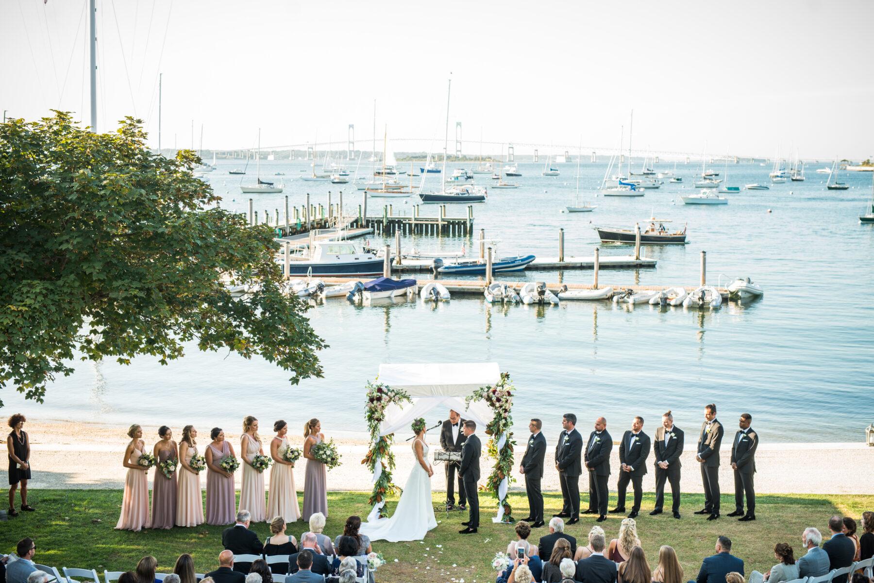 New York Yacht Club Wedding Mikayla and Josh Blueflash Photography 10