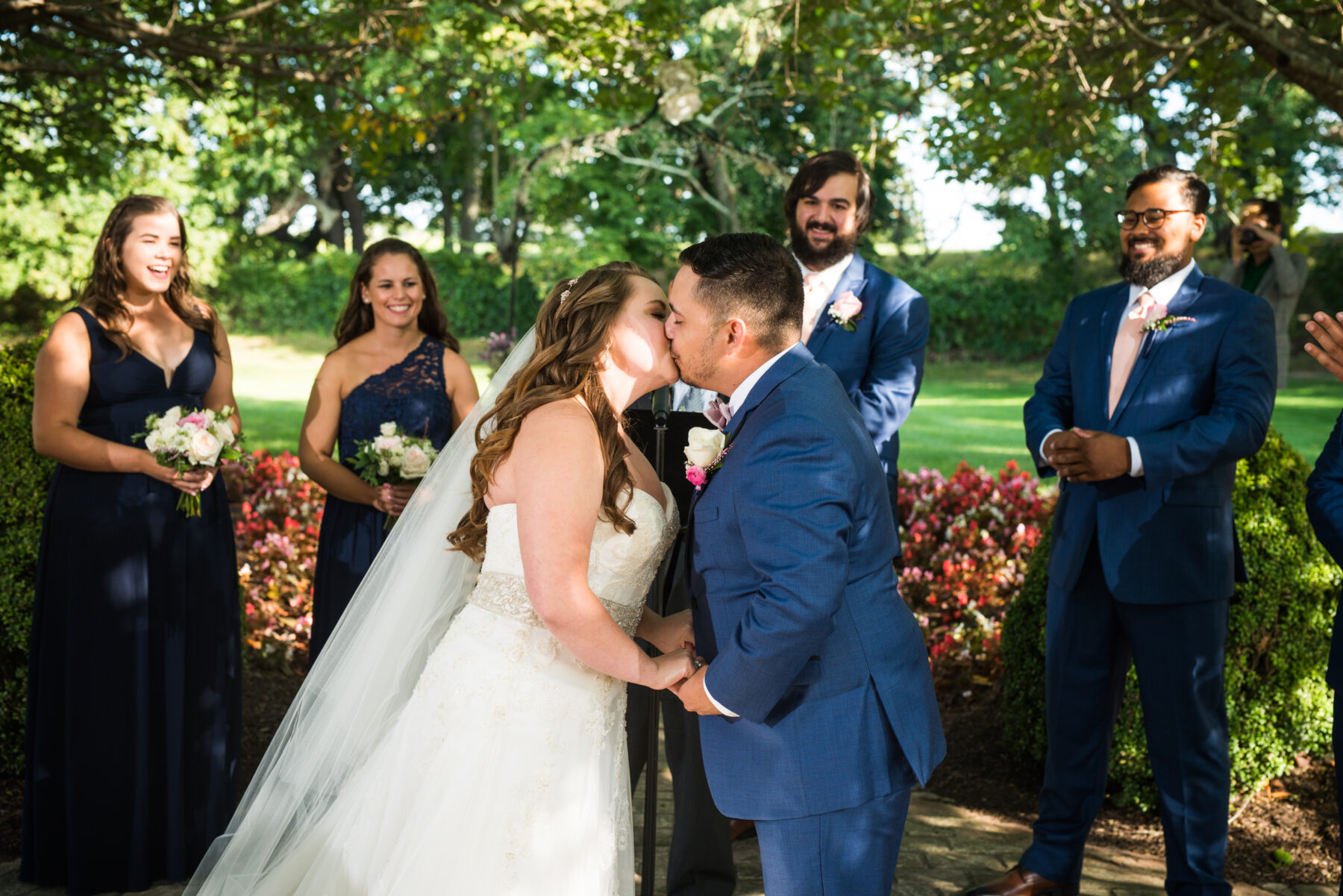 Quonset O Club North Kingstown Wedding Marissa and Alejandro Blueflash Photography 13