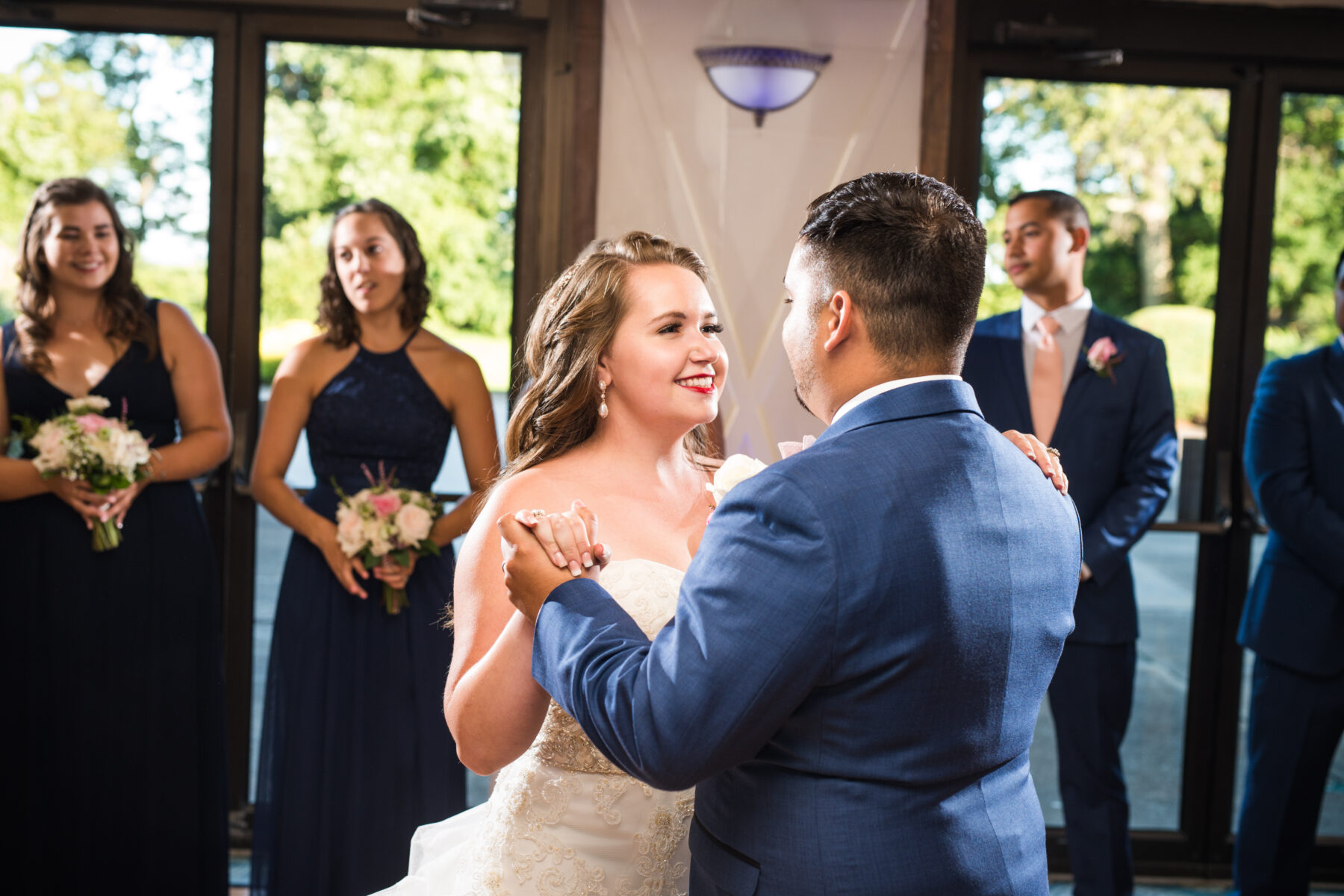 Quonset O Club North Kingstown Wedding Marissa and Alejandro Blueflash Photography 3
