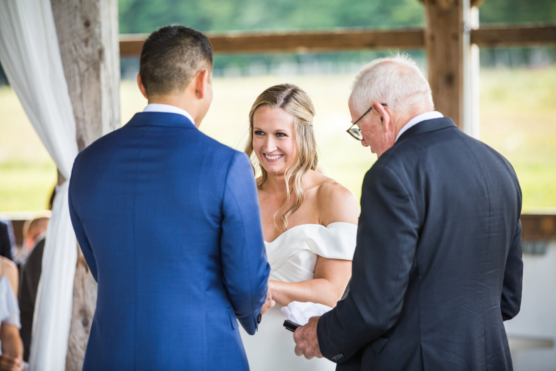 Valley View Farm Haydenville Wedding Kristin and David Blueflash Photography 10