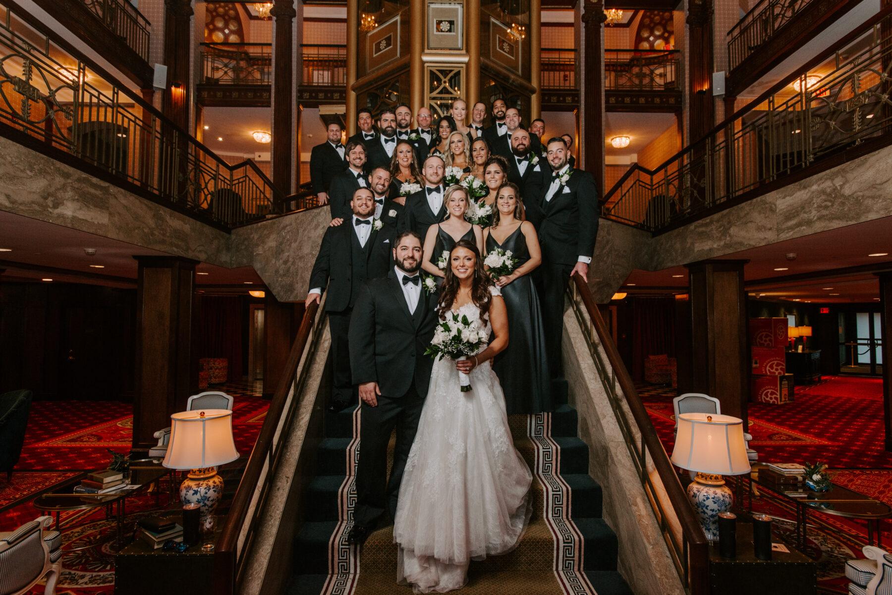 Graduate Providence Wedding Alexandria and Mike Blueflash Photography 6