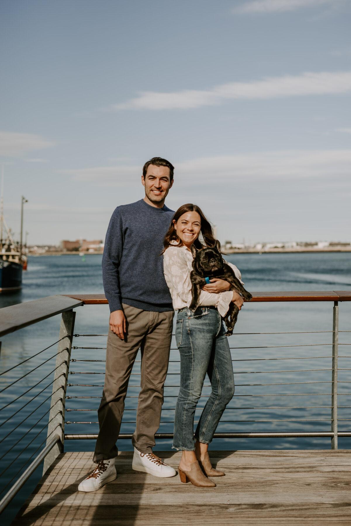 Boston Waterfront Engagement Rachel and Michael Blueflash Photography 15
