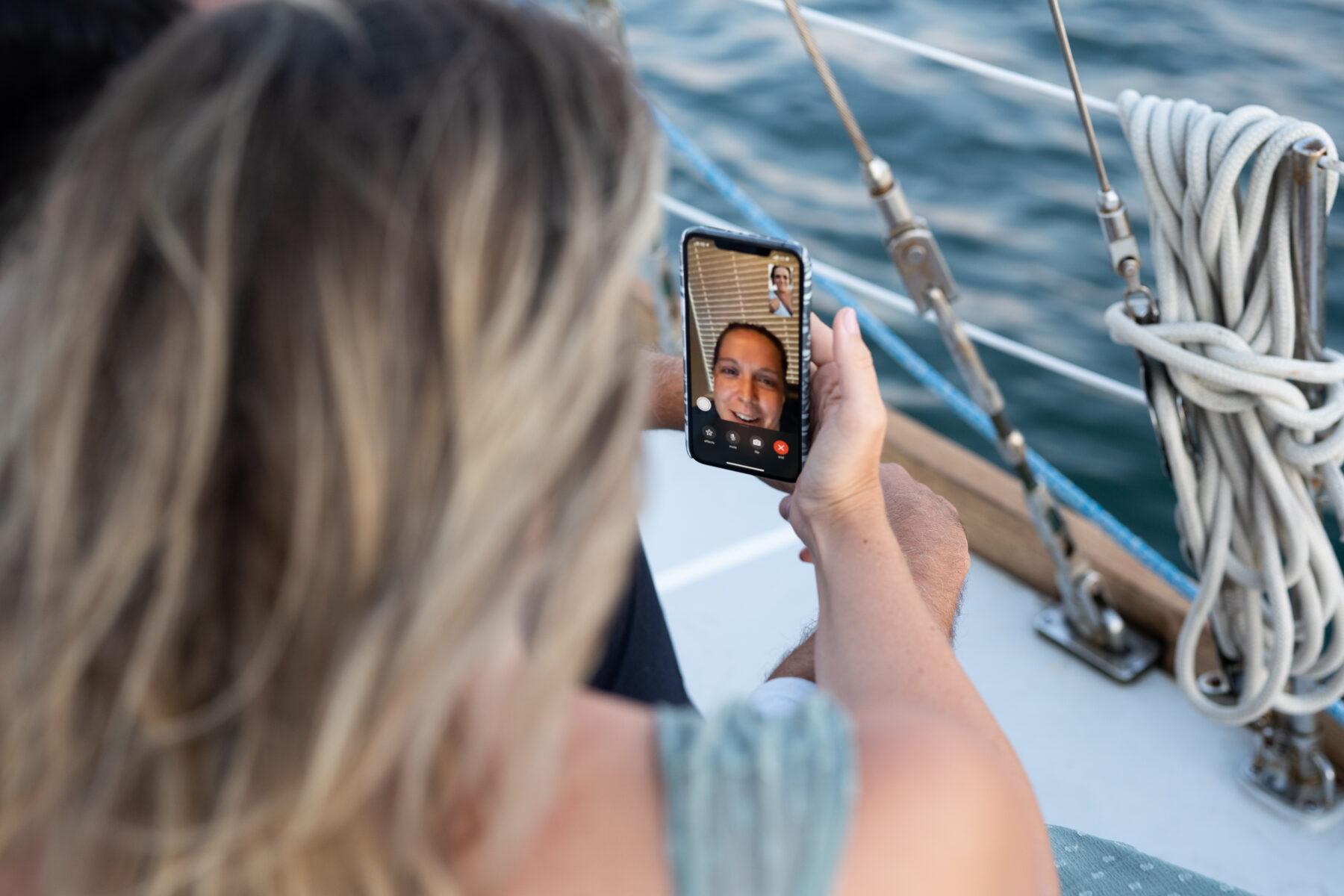 Sail Newport Proposal Jodi and Brian Blueflash Photography 1
