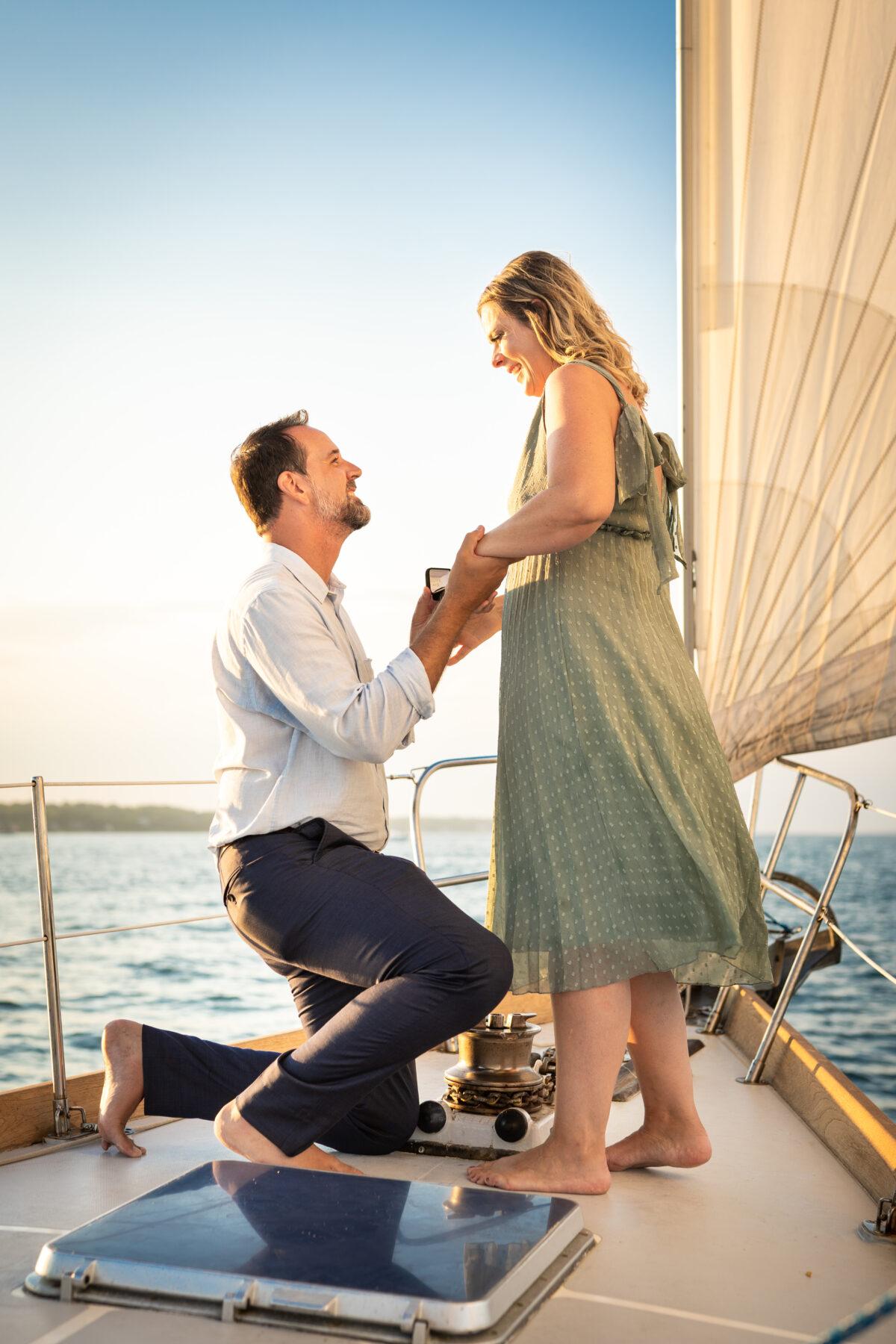 Sail Newport Proposal Jodi and Brian Blueflash Photography 14