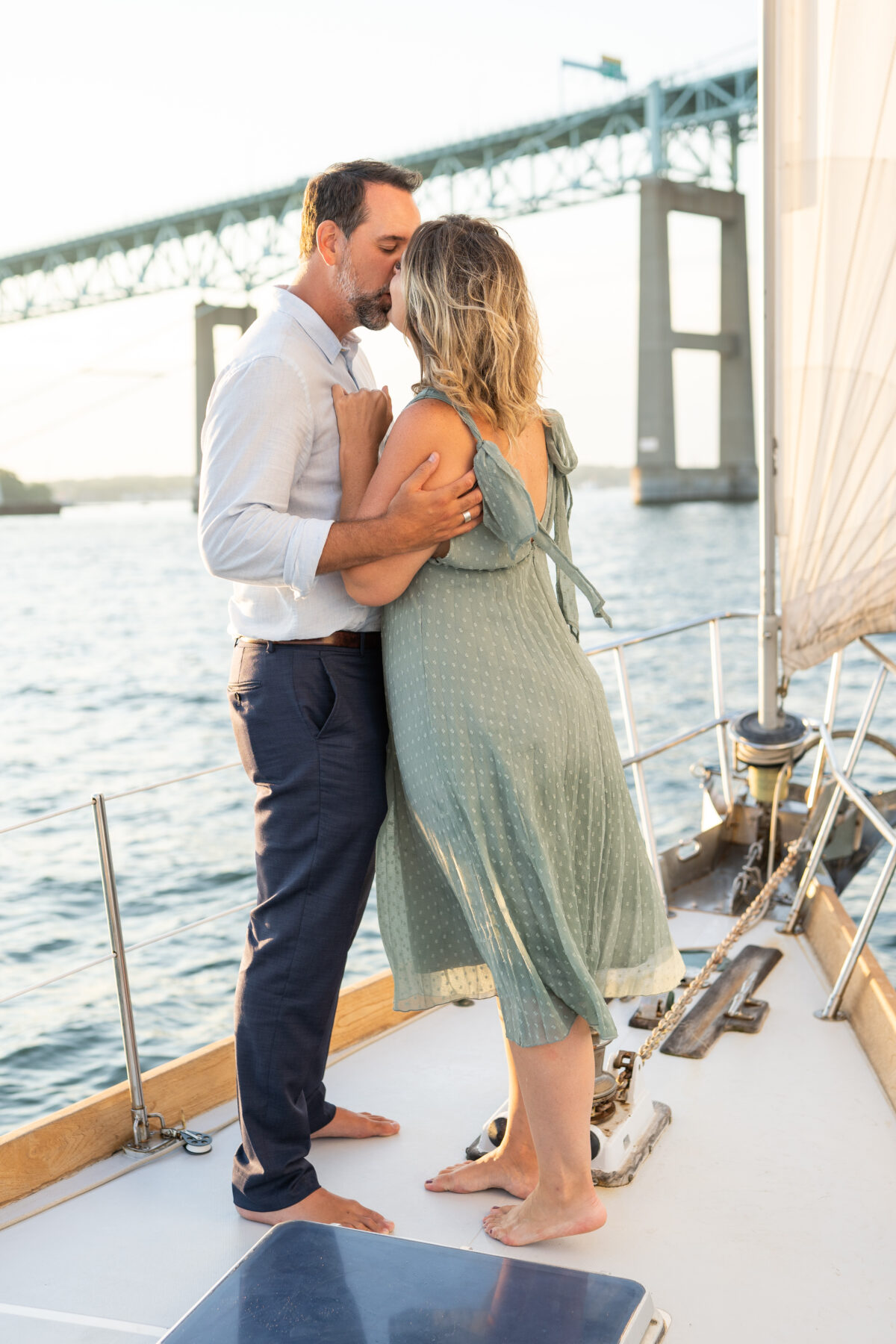 Sail Newport Proposal Jodi and Brian Blueflash Photography 15