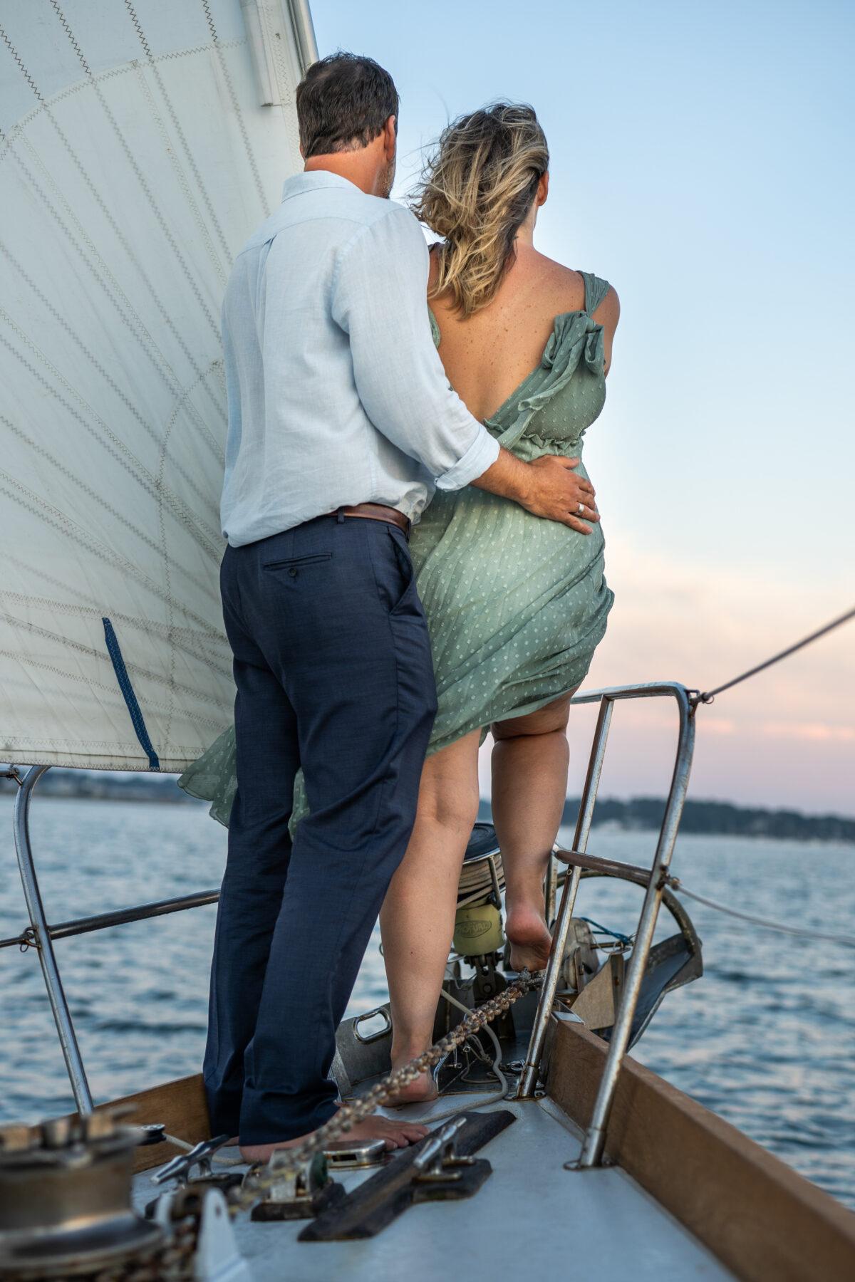 Sail Newport Proposal Jodi and Brian Blueflash Photography 2