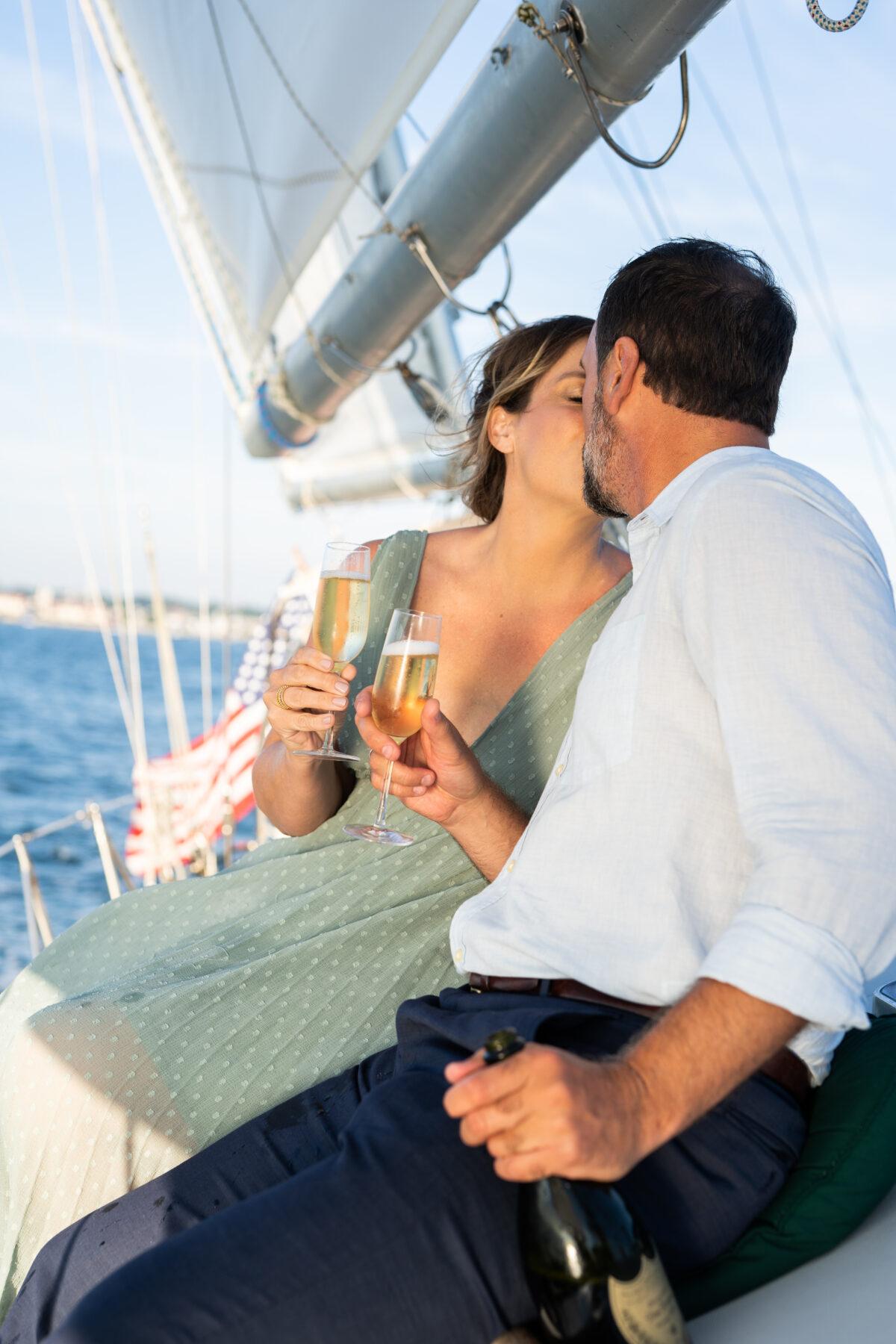Sail Newport Proposal Jodi and Brian Blueflash Photography 22