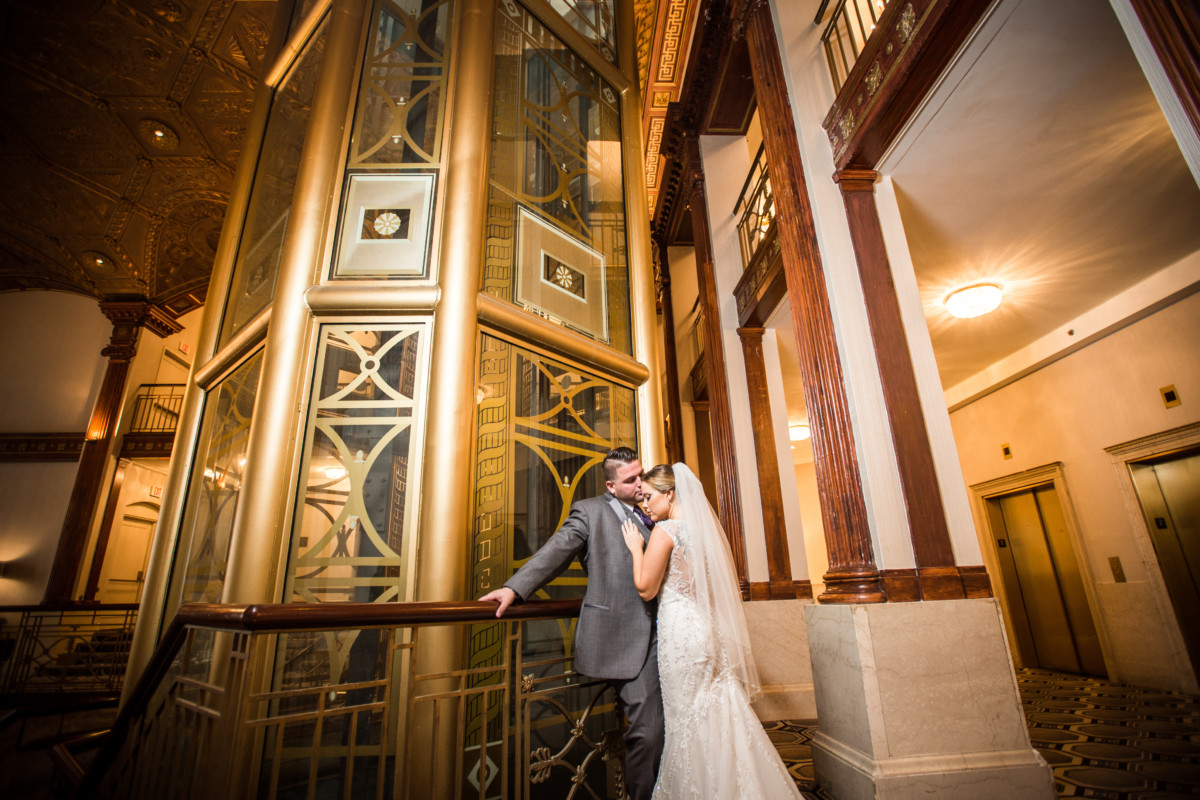 Angela and Jason   Providence Biltmore Wedding   Blueflash Photography