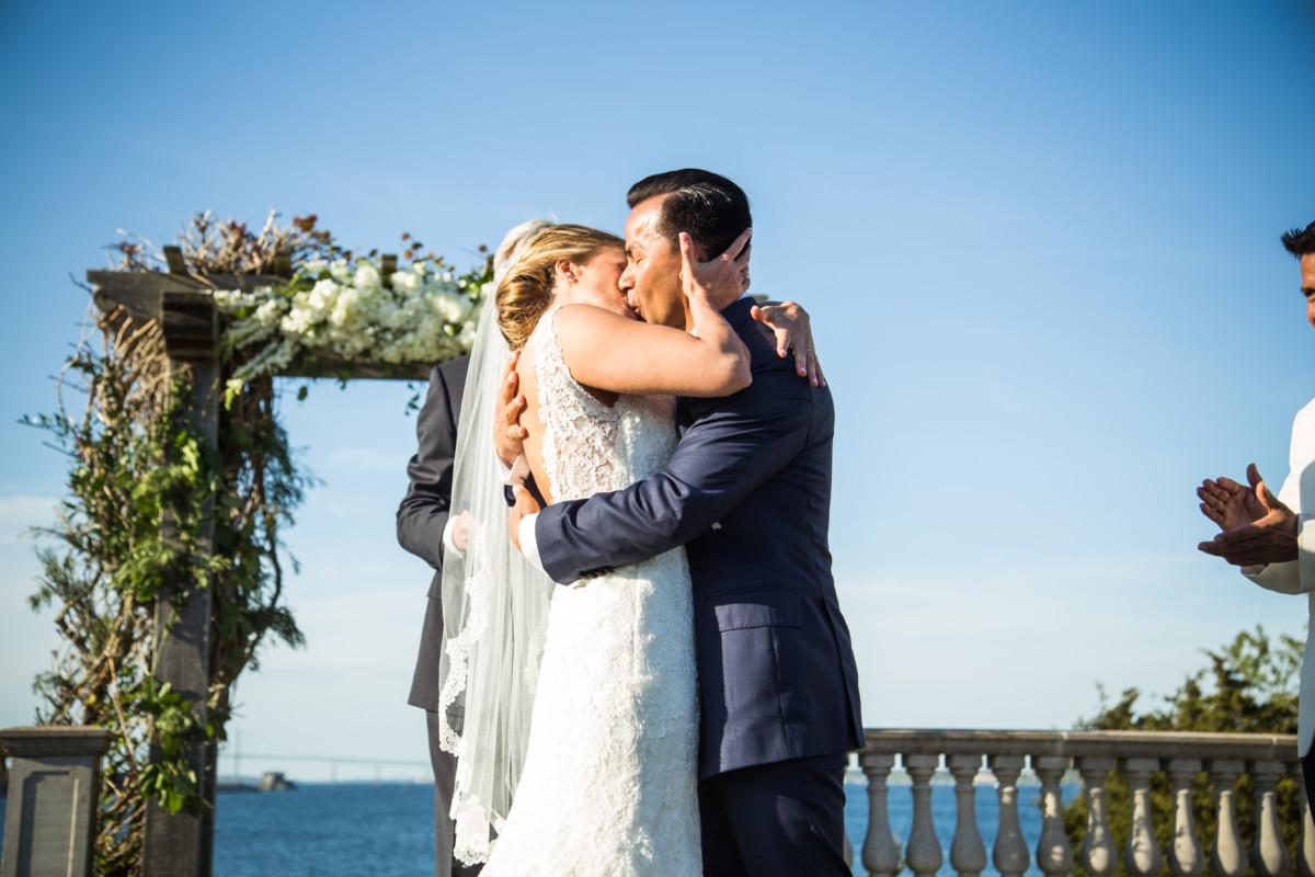 Joelle and Fernanado | Castle Hill Inn Newport Wedding | Blueflash Photography
