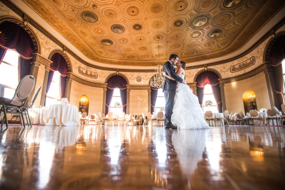 Lauren and Jimmy   Wedding at the Providence Biltmore   Grand Ballroom