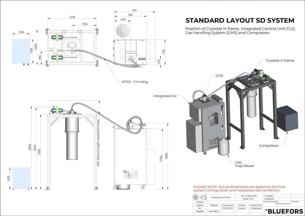 medium resolution of bluefors dilution refrigerator layout sd standard 2019