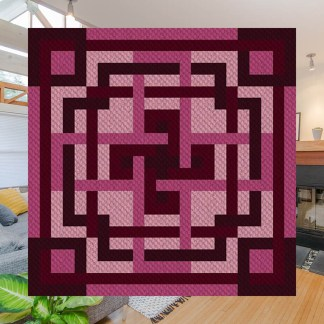Maze of Mimi C2C Corner to Corner Crochet Pattern
