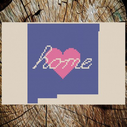 New Mexico Home Cross Stitch Chart