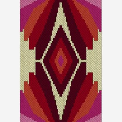 Dragon Lair C2C Afghan Crochet Pattern Corner Corner Graphghan Cross Stitch