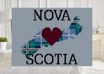 Heart Nova Scotia Twin Taller C2C Afghan Crochet Pattern