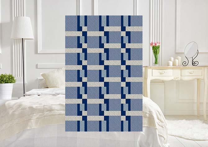 Letties Ladder  C2C Crochet Pattern