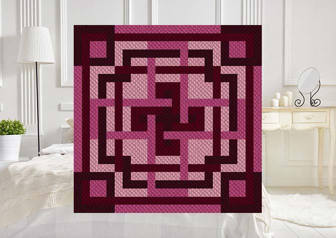 Maze of Mimi C2C Crochet Pattern