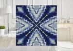 Purple Rays C2C Crochet Pattern