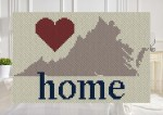 Greater Texas Home C2C Afghan Crochet Pattern