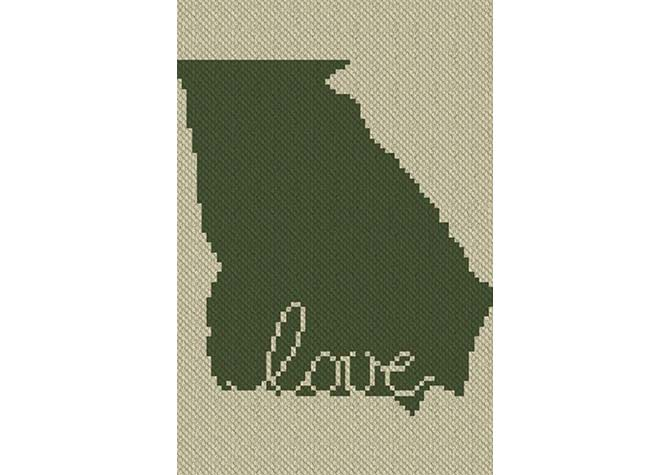Georgia Love C2C Crochet Pattern