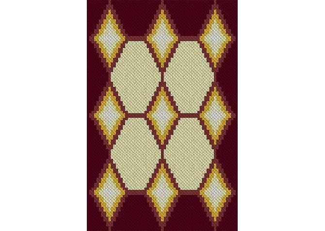 Glint of Sunshine C2C Crochet Pattern