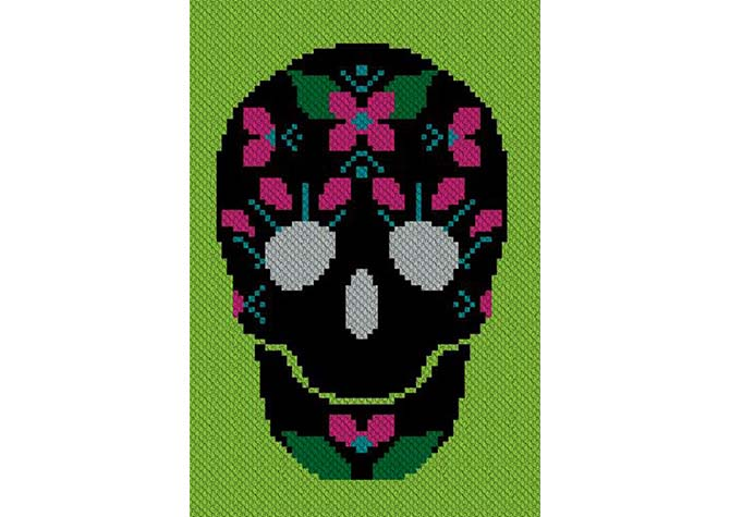 Mujer Amor C2C Crochet Pattern