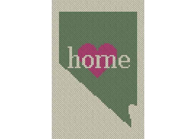 Nevada Home C2C Crochet Pattern