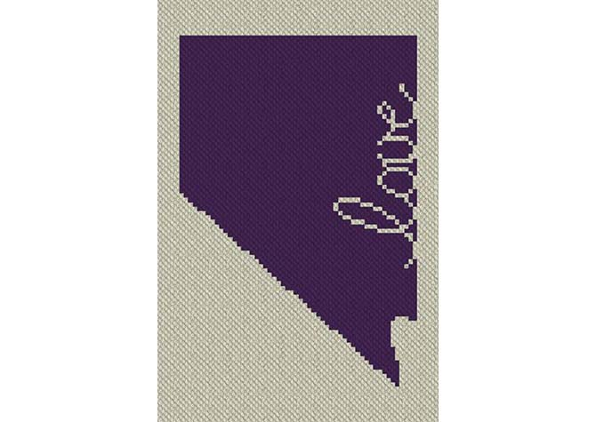 Nevada Love C2C Crochet Pattern