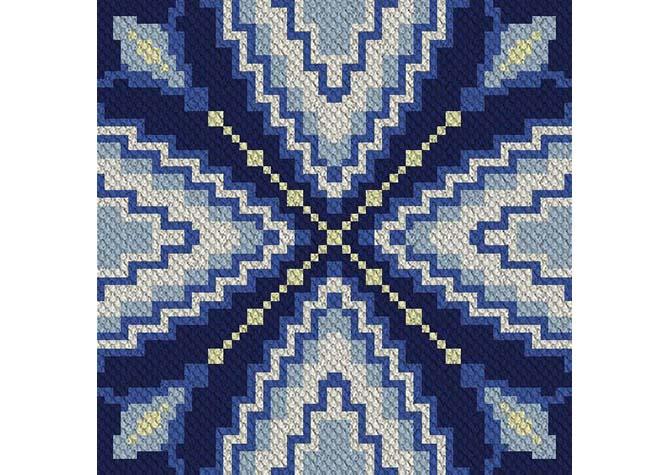 Reflection C2C Crochet Pattern