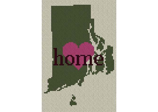 Rhode Island Home C2C Afghan Crochet Pattern