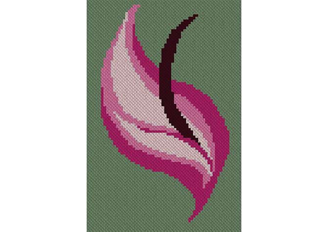 Voodoo Lily C2C Crochet Pattern