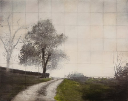 """John Folsom, Shaker Frontier IV, archival pigment print on board with oil and wax medium 32"""" x 40"""" $5500"""