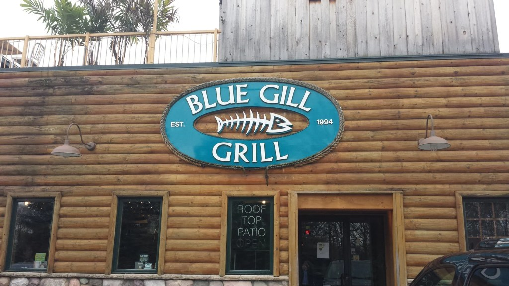 Blue Gill Grill Great Food, Friends, Drink, and Fun