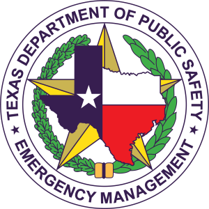 Seal of the Texas Department of Emergency Management (TDEM)