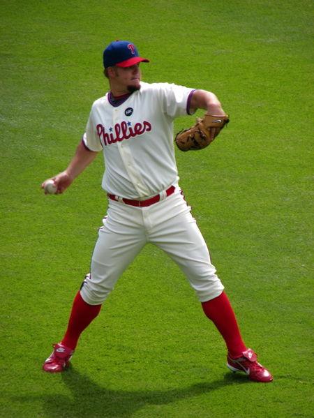 Joe Blanton; Photo from Wikimedia Commons