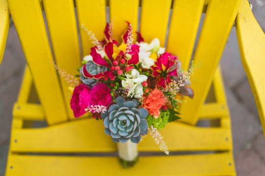 Bridal Bouquet; Succulents; David Austins; Hypericum Berry; Paradise Cove; Glorisa
