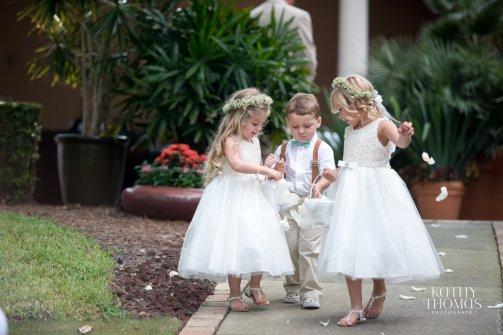 Bridal Bouquet, Bridesmaids Bouquet, Flower Girls, Wedding, Mission Inn Resort