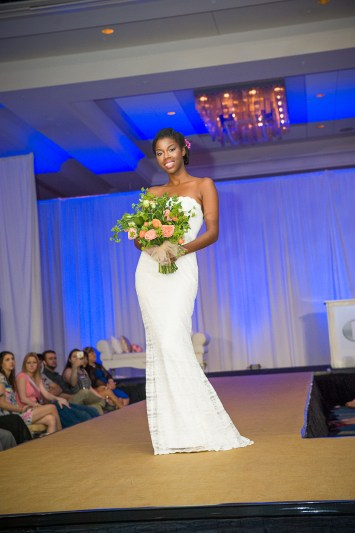 Bridal bouquet for the runway at the PWG wedding expo