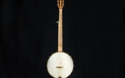 Pisgah Banjos to raffle historically significant custom banjo to benefit the Arnold Shultz Fund